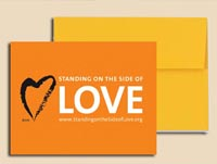 Standing on the Side of Love Greeting Cards (pack of 10)