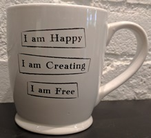 Happy, Creative, Free Cup