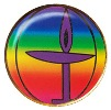 Rainbow Chalice Lapel Pin