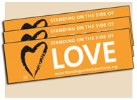 Standing on the Side of Love Bumper Stickers (Pack of 10)