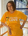 Side with Love Adult T Shirt
