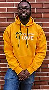 Side with Love Hoodie Sweatshirt