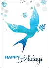 Blue Dove Holiday Cards