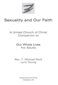 Sexuality and Our Faith, Adult UCC