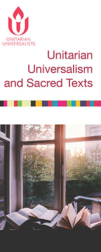 Unitarian Universalism and Sacred Texts