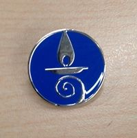 Blue Chalice Lapel Pin