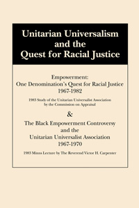 Unitarian Universalism and the Quest for Racial Justice