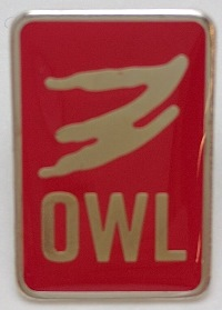 OWL Lapel Pin - Red, Sr. High