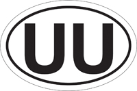 Decal - UU Oval