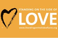 Standing on the Side of Love Rally Signs (pack of 10)