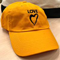 Side with Love Baseball Cap