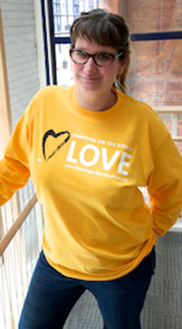 Standing on the Side of Love Long Sleeved T Shirt Medium