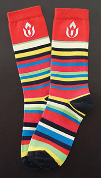 Chalice Striped Socks