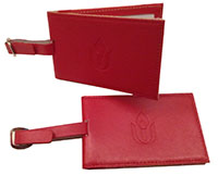 Chalice Luggage Tag - Red