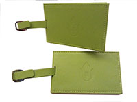 Chalice Luggage Tag - Green