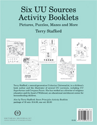 Six UU Sources Activity Booklets (one set)
