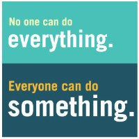 No One Can Do Everything, but Everyone Can Do Something magnet